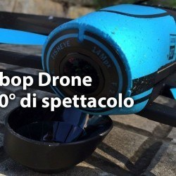 bebop drone 250x250 Parrot Bebop Drone, riprese aeree a 180° in Full HD