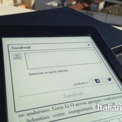 Kindle Paperwhite condivisione