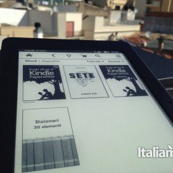Kindle Paperwhite home