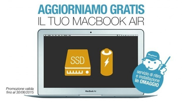 macbook air 620x348 Aggiorna il tuo MacBook Air, BuyDifferent regala l'installazione