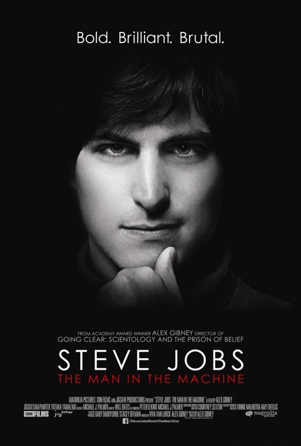 jobs.poster 620x918 Il primo trailer del film documentario di Steve Jobs The Man In The Machine