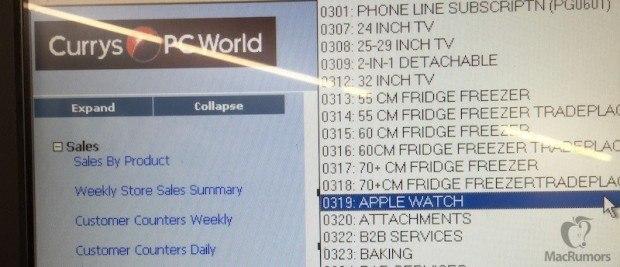 currys apple watch 800x344 620x267 Currys e PC World si preparano a vendere Apple Watch nel Regno Unito