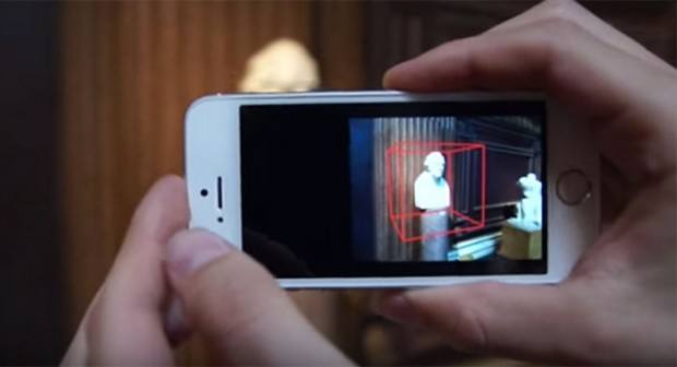 iphone 3d scanner001 780x423 620x336 Unapp Microsoft trasformerebbe il nostro iPhone in uno scanner 3D