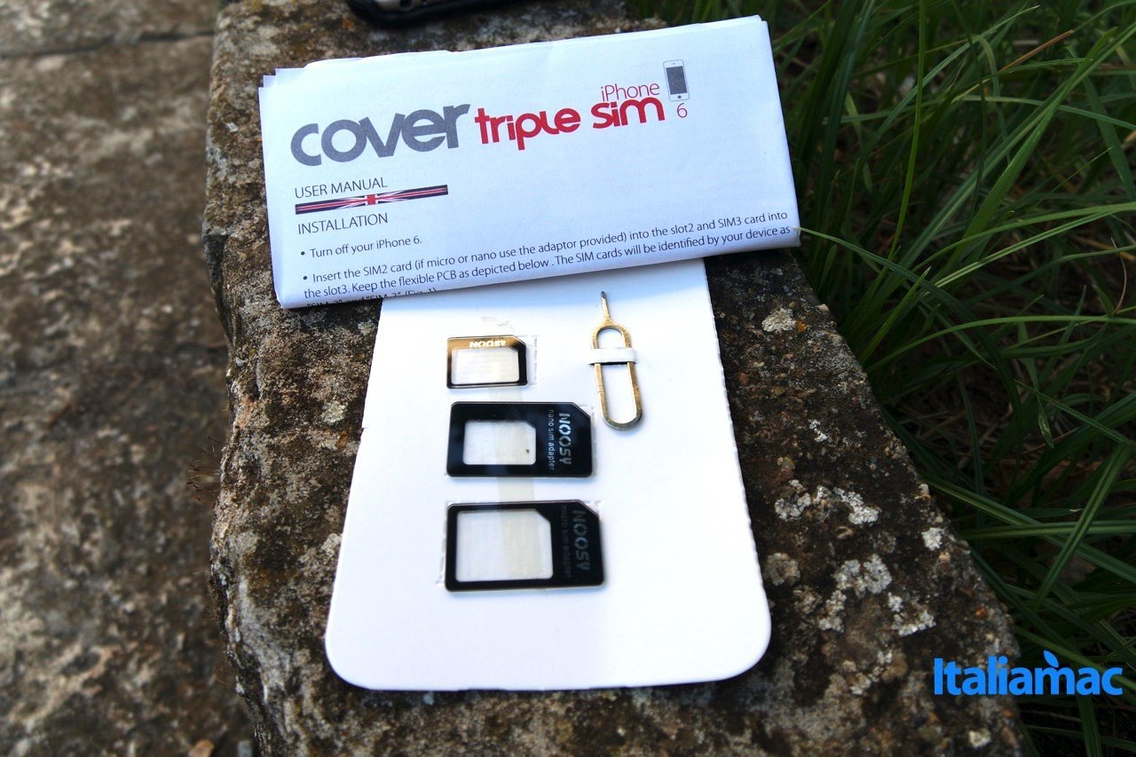 vavelieroiphone9 VaVeliero: Cover Triple Sim, 3 schede SIM su iPhone 6
