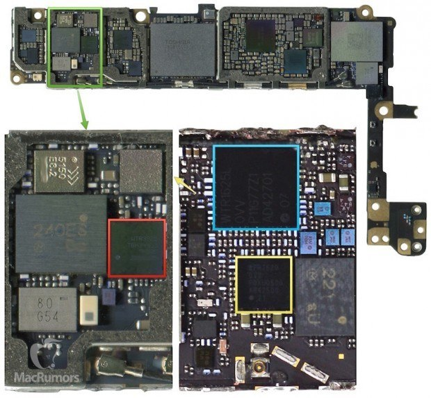 wtr3925 iphone 6s 620x573 iPhone 6S mostrato semi assemblato in un video