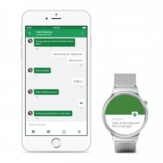 androidwearforios 620x619 Android Wear è adesso compatibile con iPhone