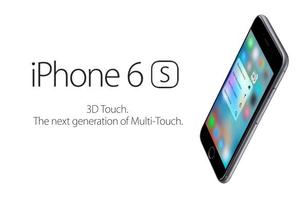 iphone 6s 3d touch main Il 3D Touch comparato al Force Touch ed al Multi Touch