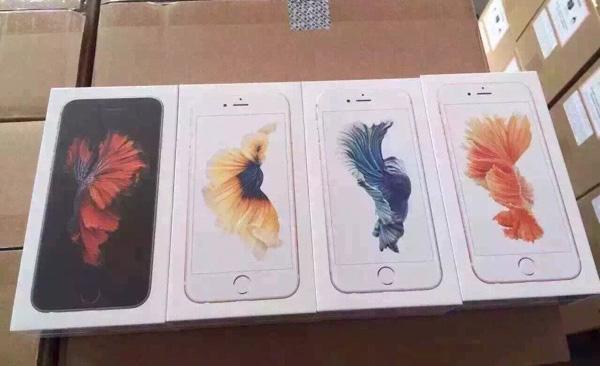 iphone 6s packaging Nuove immagini mostrano i quattro colori di iPhone 6s nelle rispettive confezioni