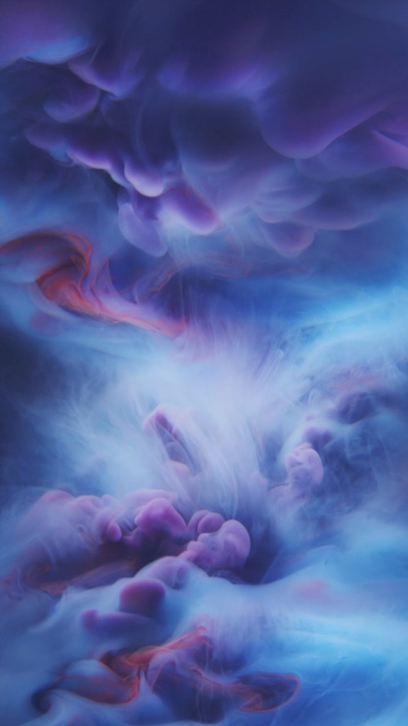 iphone 6s purple ink wallpaper 576x1024 I nuovi sfondi di iPhone 6S disponibili al download per tutti