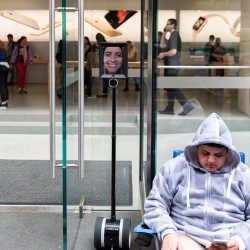 Lucy Kelly Robot Apple Store 4