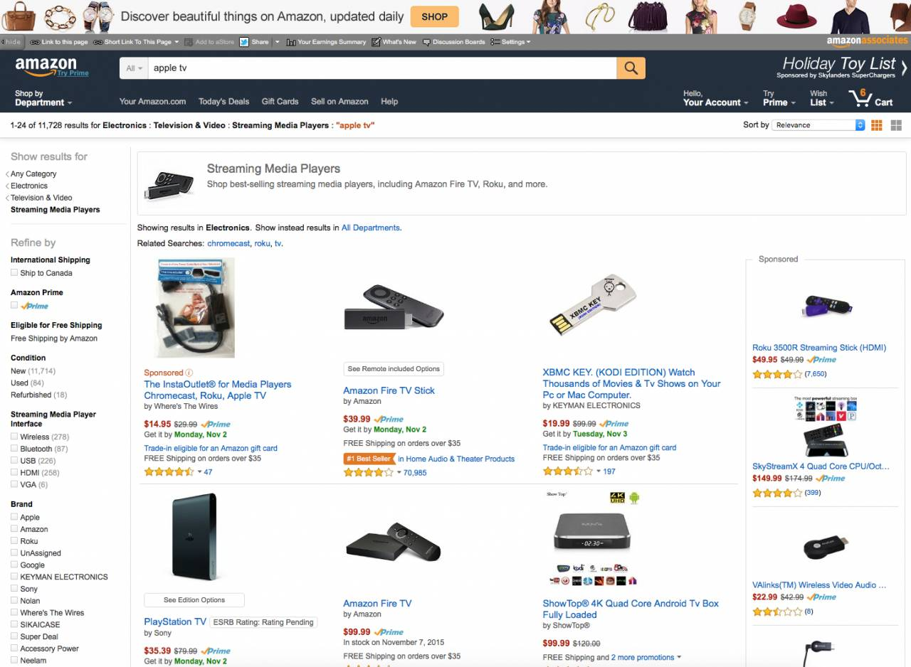 Amazon Apple TV ban