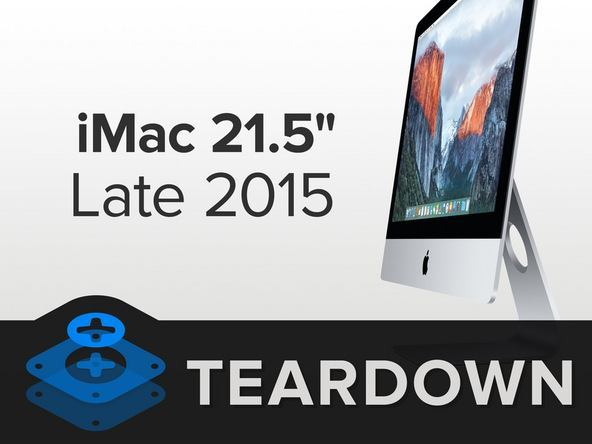 "iMac 21.5"" 1080p iFixit Teardown"