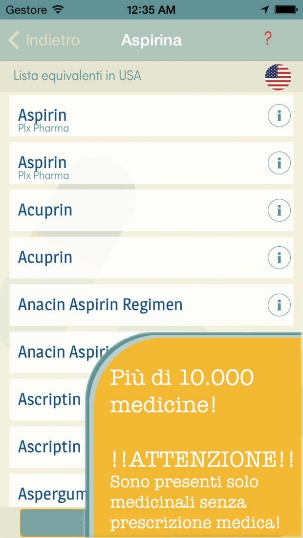find4 620x1101 Trova la mia medicina per iPhone si rinnova: 12 paesi e 10000 medicinali