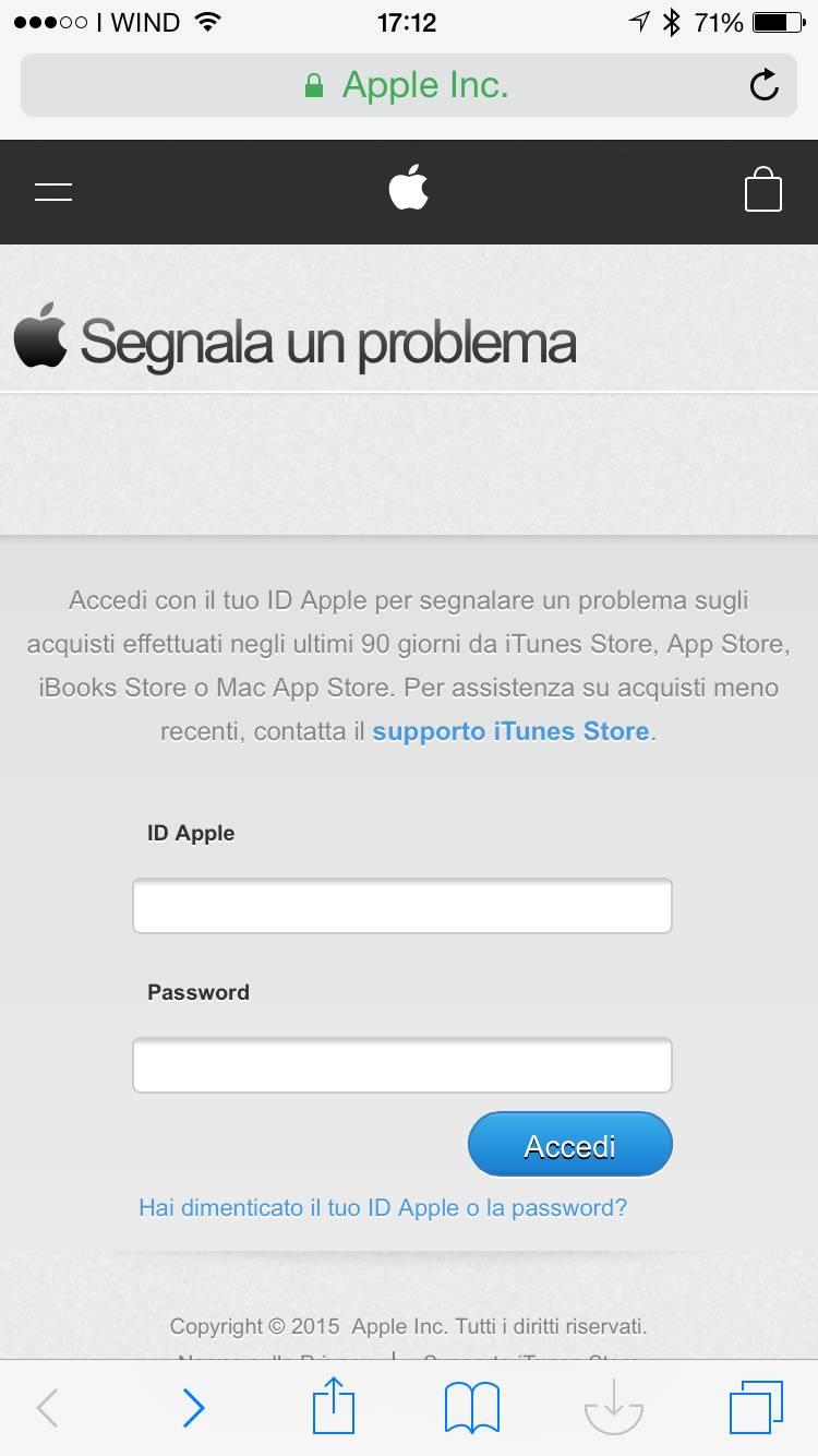 img 0789 Pessima app acquistata? Apple vi rimborsa, ecco come