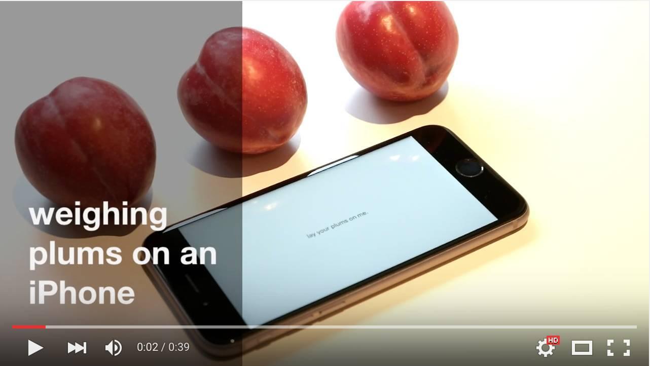 schermata 2015 10 25 alle 09.29.18 Utilizzare il 3D Touch per pesare gli oggetti? Da oggi è possibile con un app