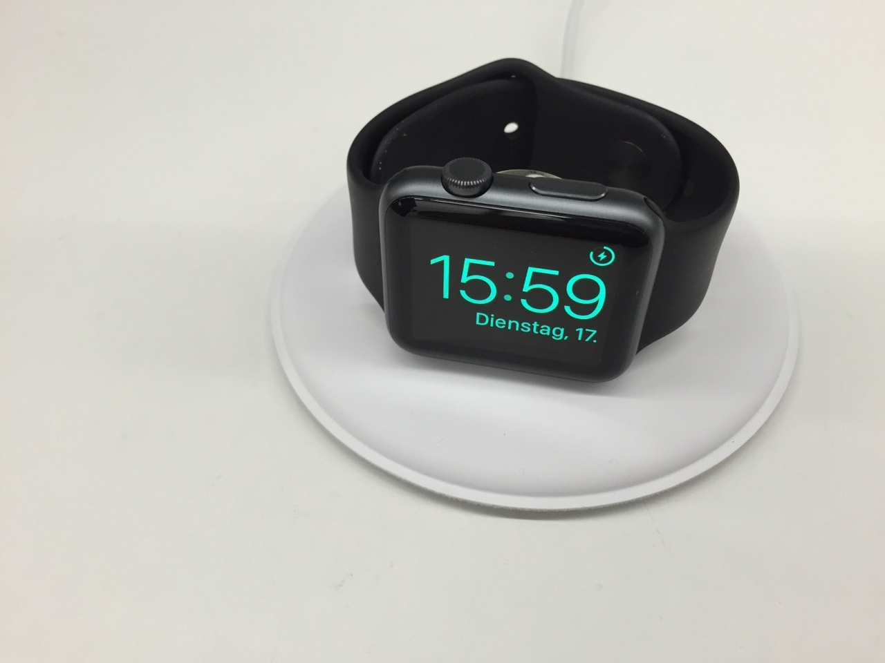 Magnetic Charging Dock Ufficiale Apple Watch Nightstand