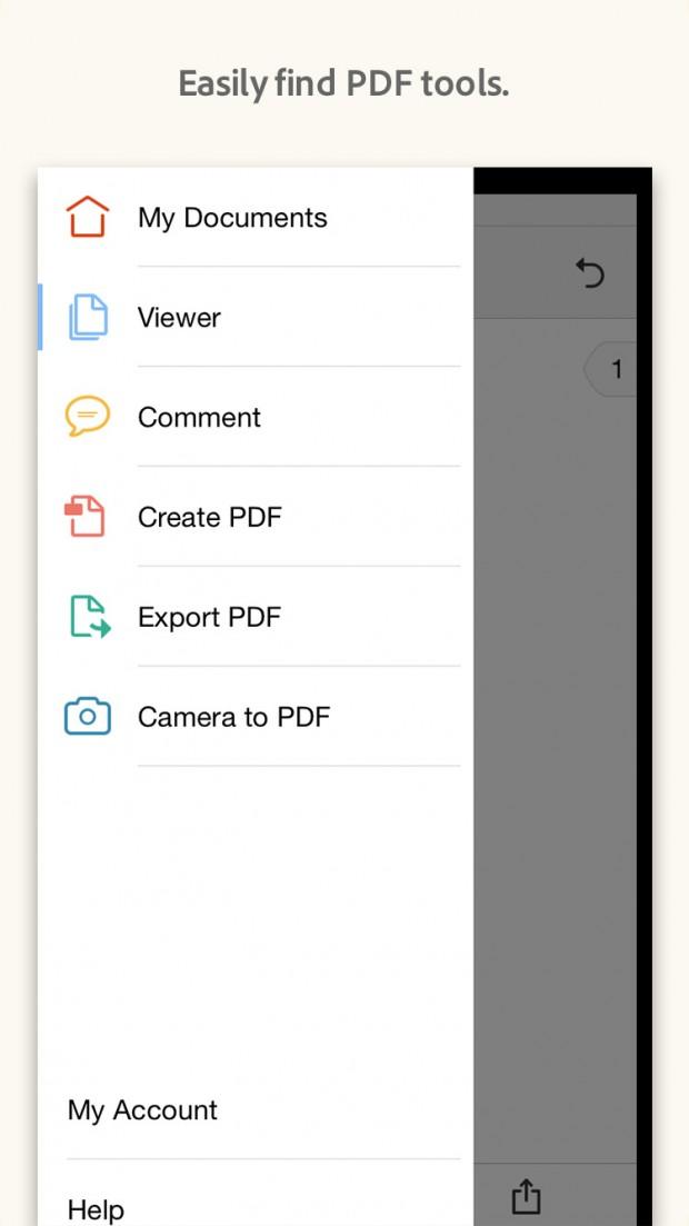 App di Acrobat Reader Dropbox Support