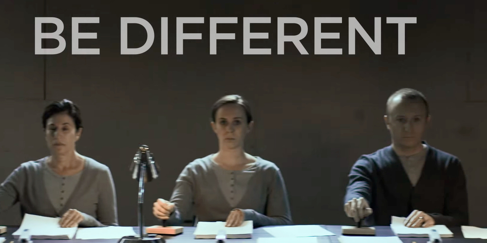 "HTC ""Be Different"" Spot"