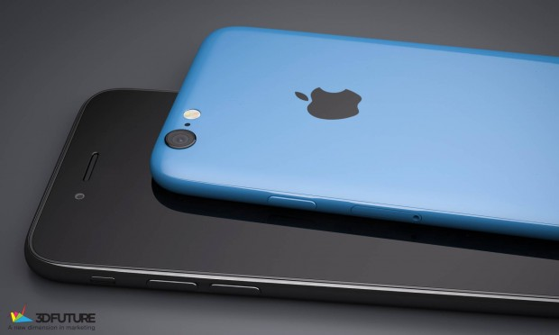 iphone 6c concept 3d future 005 620x372 Apple starebbe già testando cinque prototipi di iPhone 7