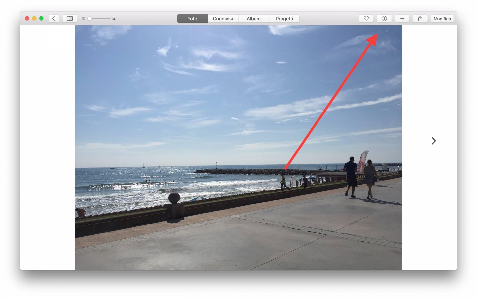 schermata 2015 11 07 alle 10.11.31 Come aggiungere la posizione in unimmagine su Foto per Mac