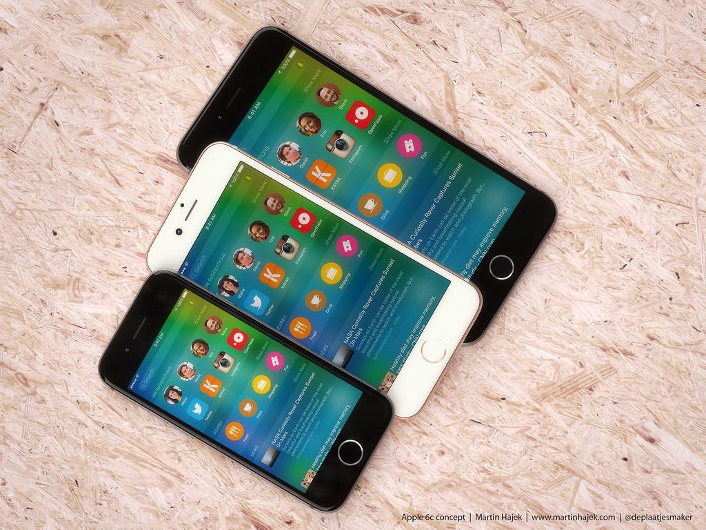 iphone 6c concept martin hajek 005 iPhone 6c con Apple Pay, chip A9 e tre colorazioni