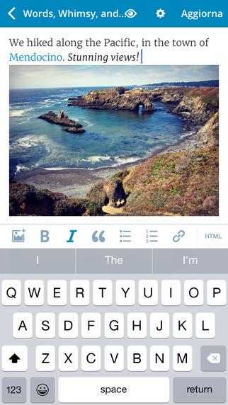 App di Wordpress iOS