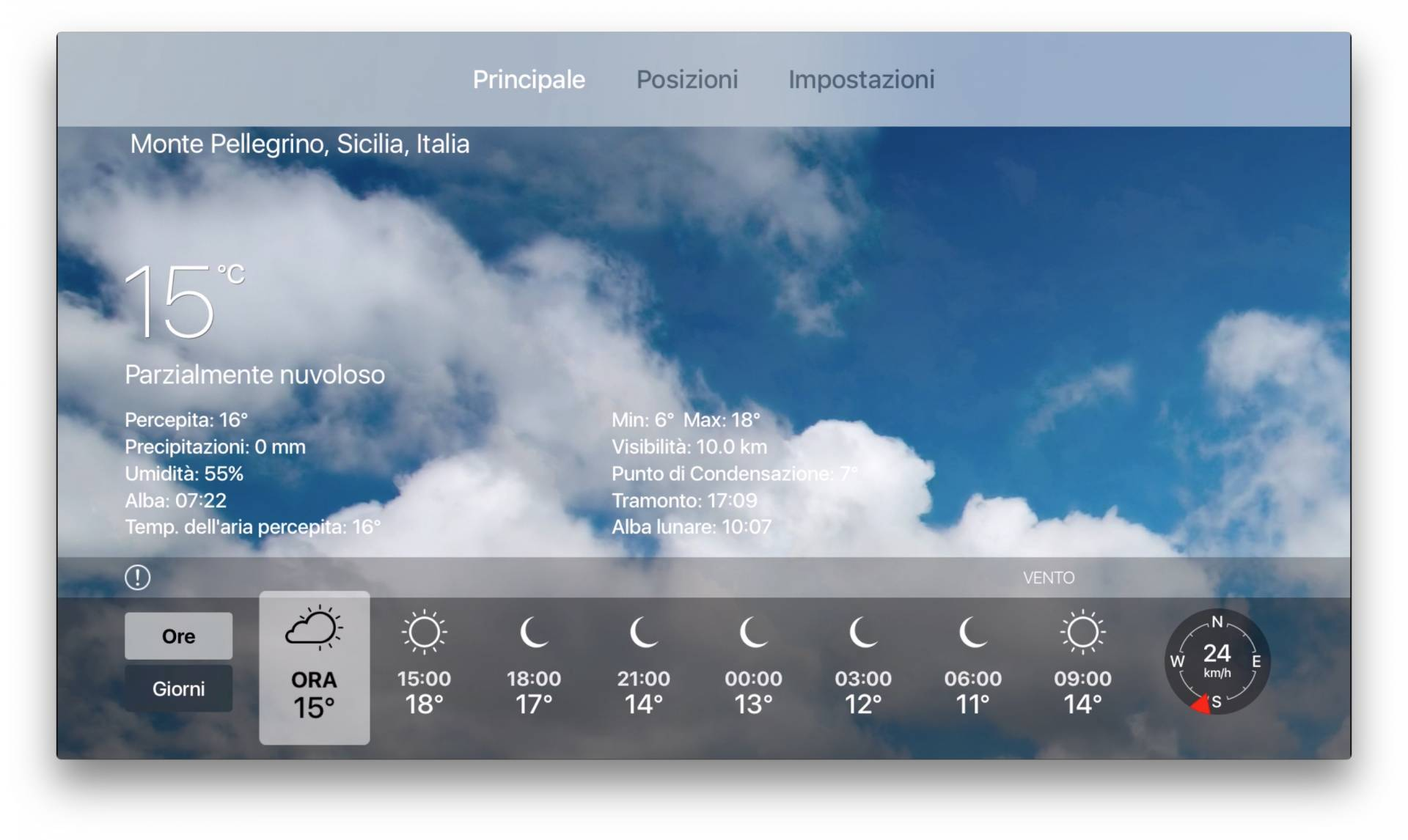meteo live apple tv Apalon rilascia Meteo Live, previsioni meteo interattive su Apple TV