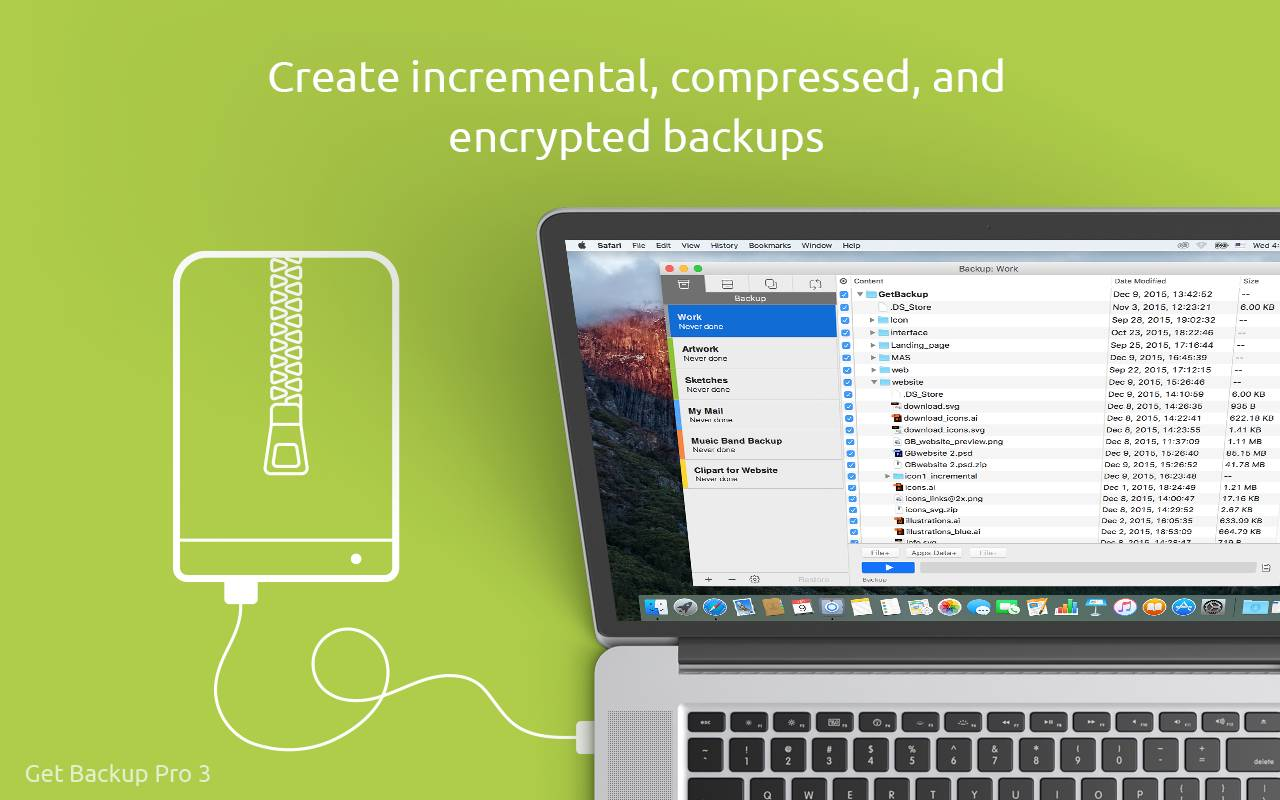 Belight Software Get Backup Pro 3 Backups