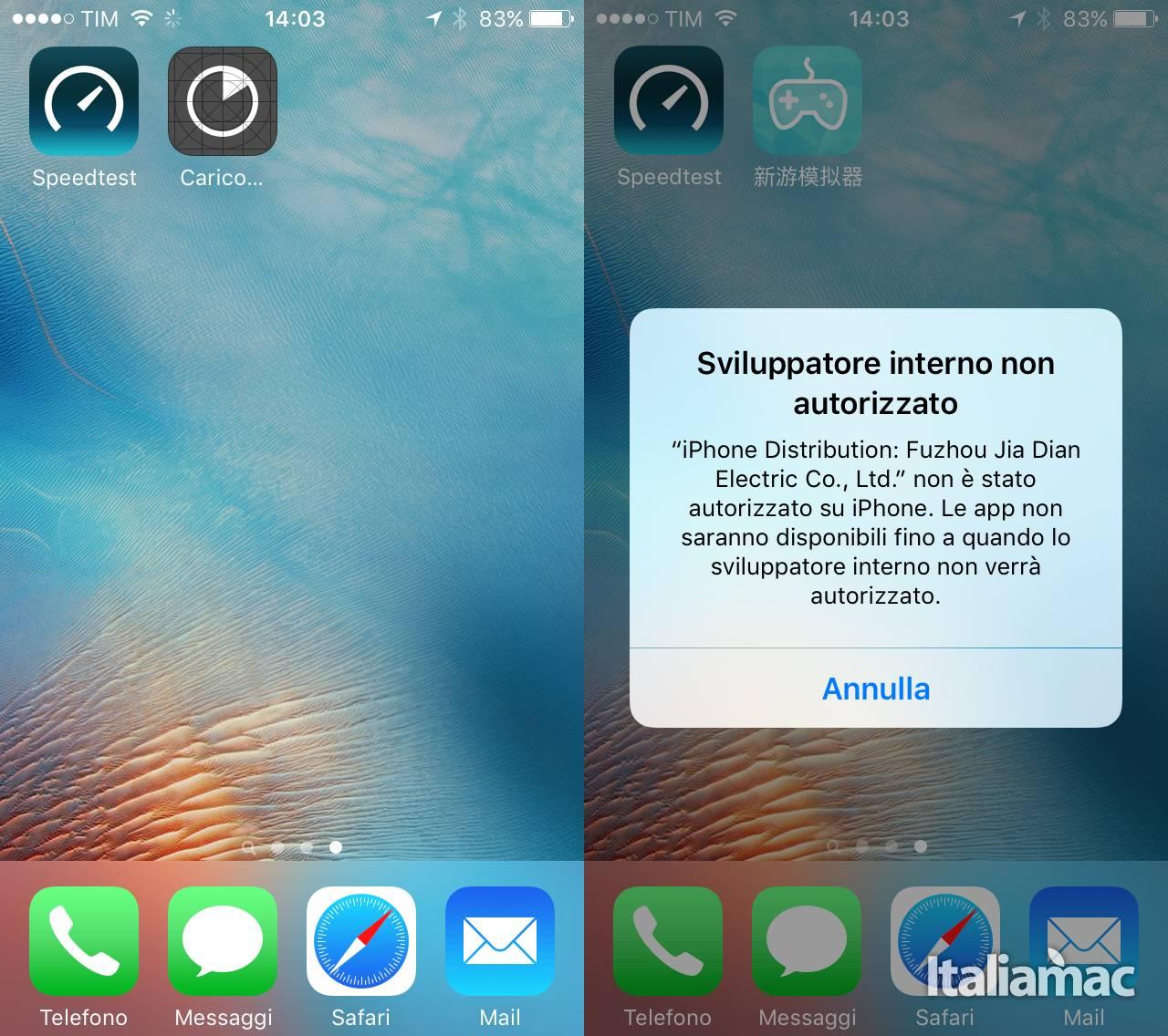 app emulatore