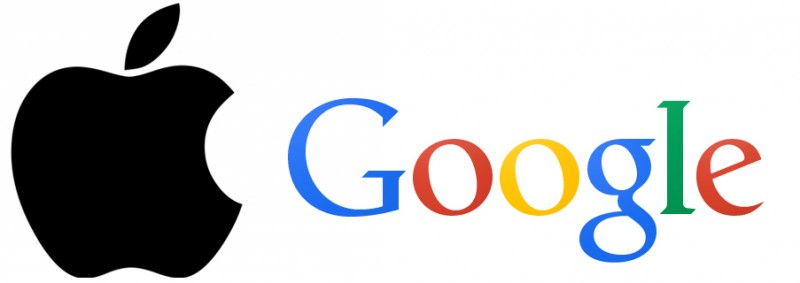 apple google logo 800x283 Google sorpassa Apple in borsa
