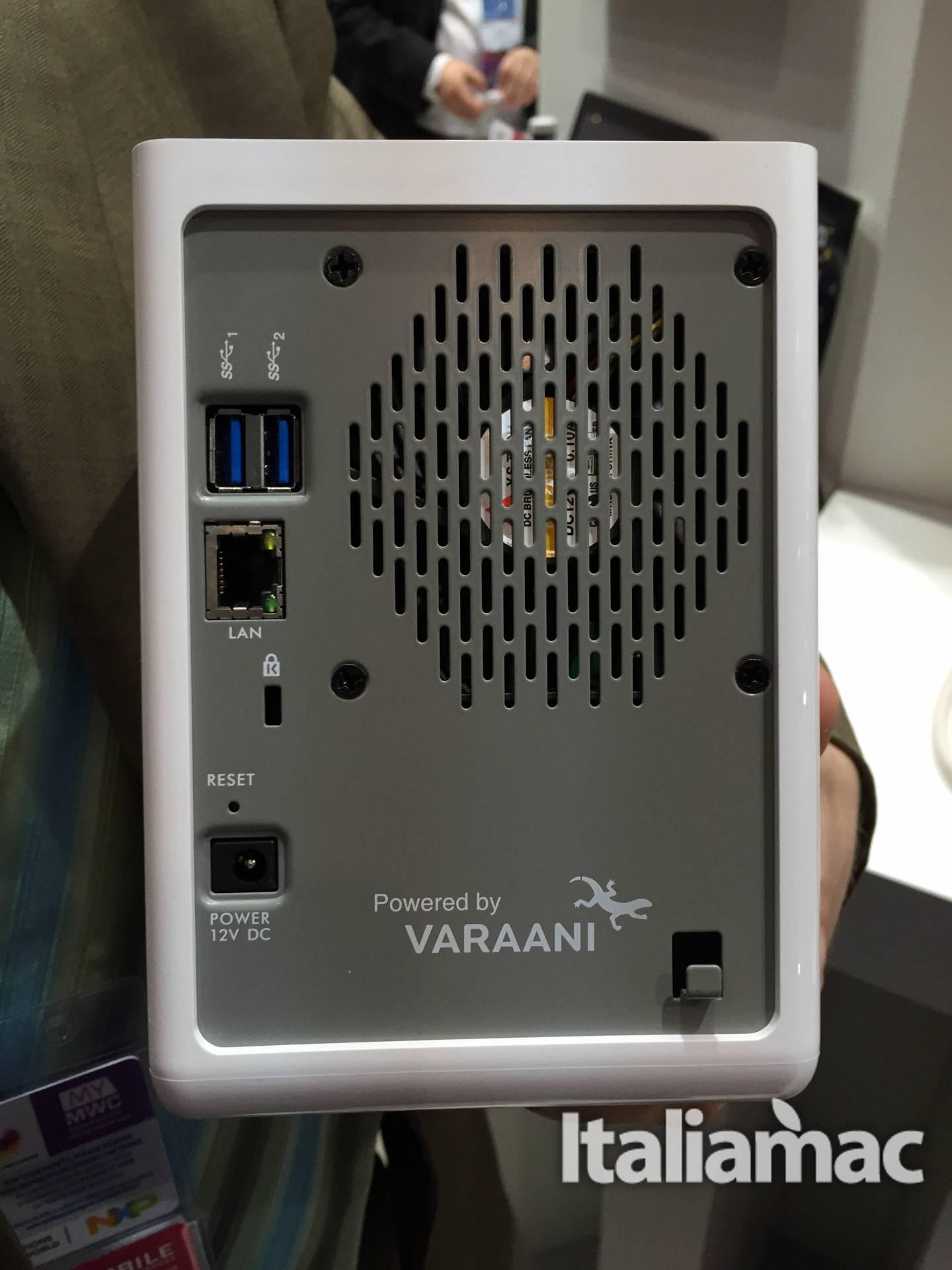 varaani usb 3.0 Varaani il Cloud Hub per la casa presentato al Mobile World Congress
