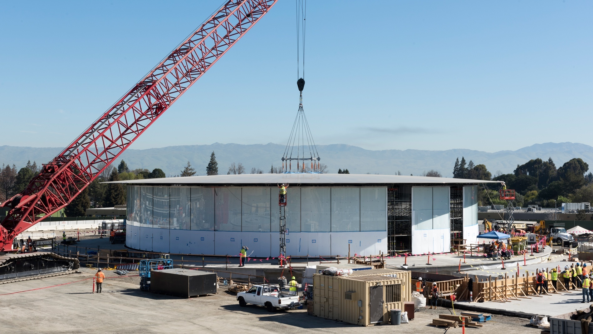 applecampus5 Progressi dal nuovo Apple Campus