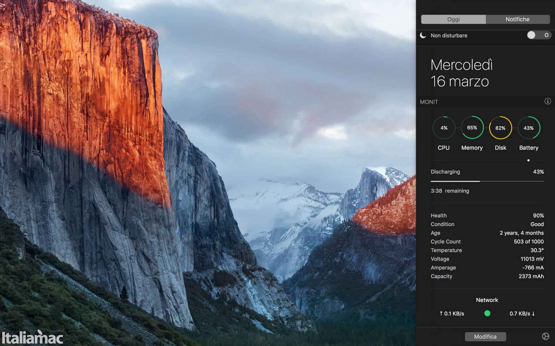Monit Mac App