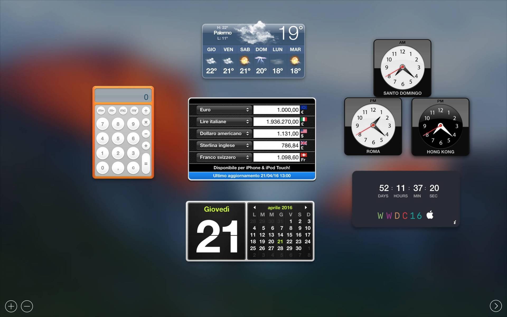 schermata 2016 04 21 alle 13.22.37 Disponibile il widget per il countdown del WWDC 2016 per Mac