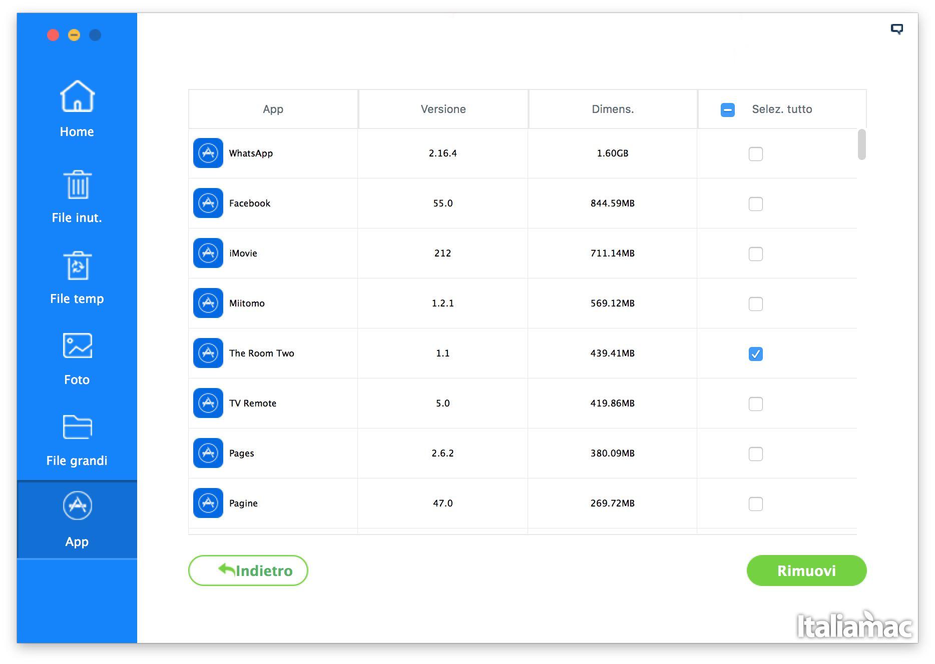 app iMyfone Umate: Eliminare file inutili da iPhone con un click