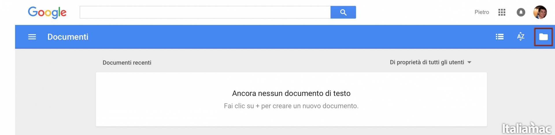google doc Come aprire file XPS su Mac