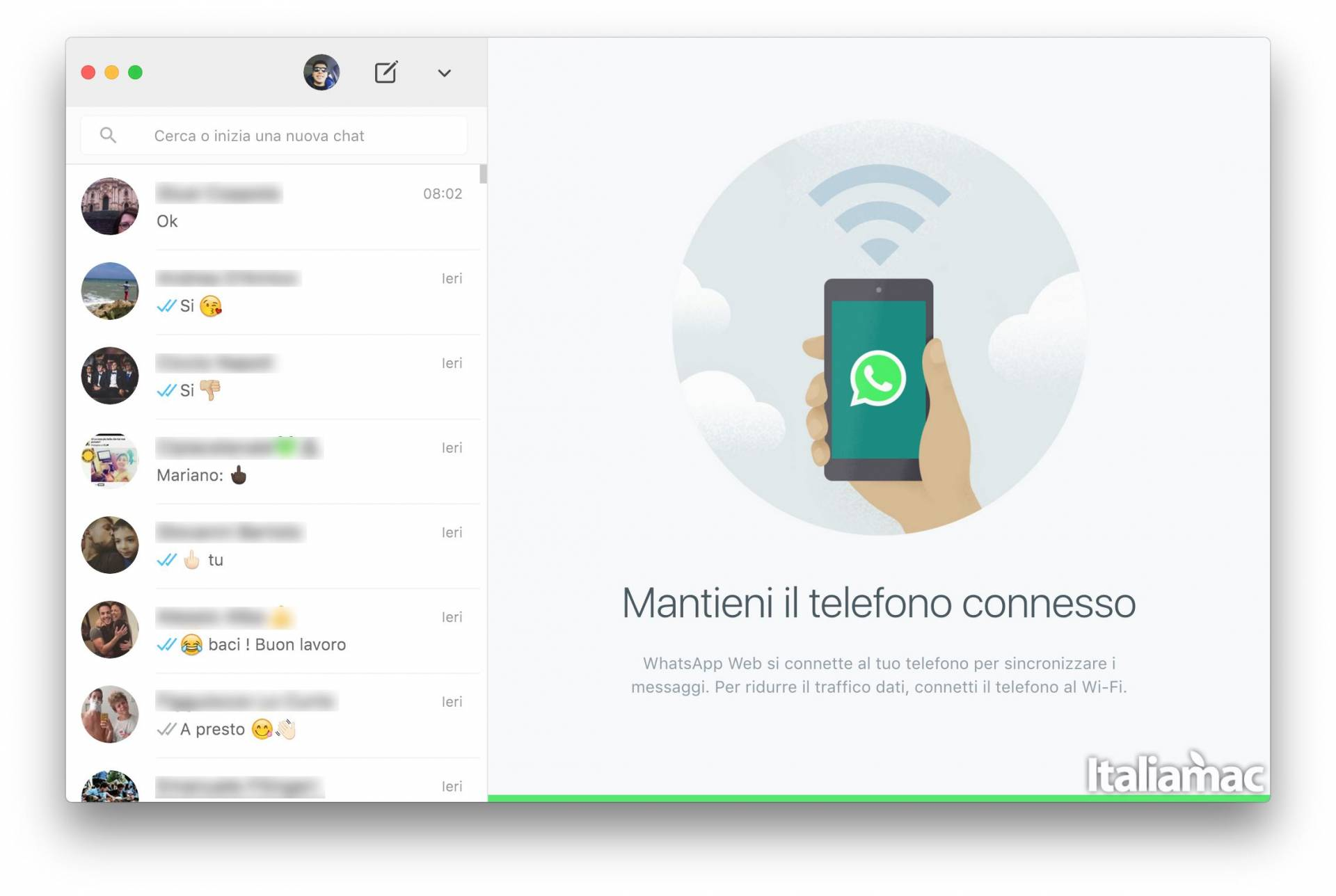 whatsapp mac desktop WhatsApp lancia la sua prima app per Mac