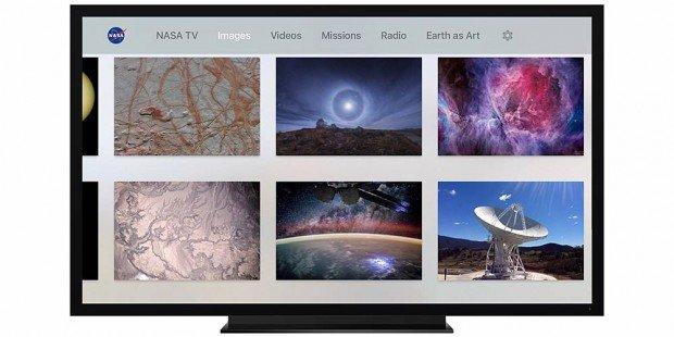 2 nasa app apple tv images 620x310 La NASA arriva su Apple TV: live streaming da ISS, foto e altro