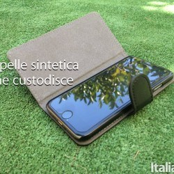 gecko cover banner 250x250 Custodia a libro in pelle sintetica per iPhone 6/6s di Gecko Covers