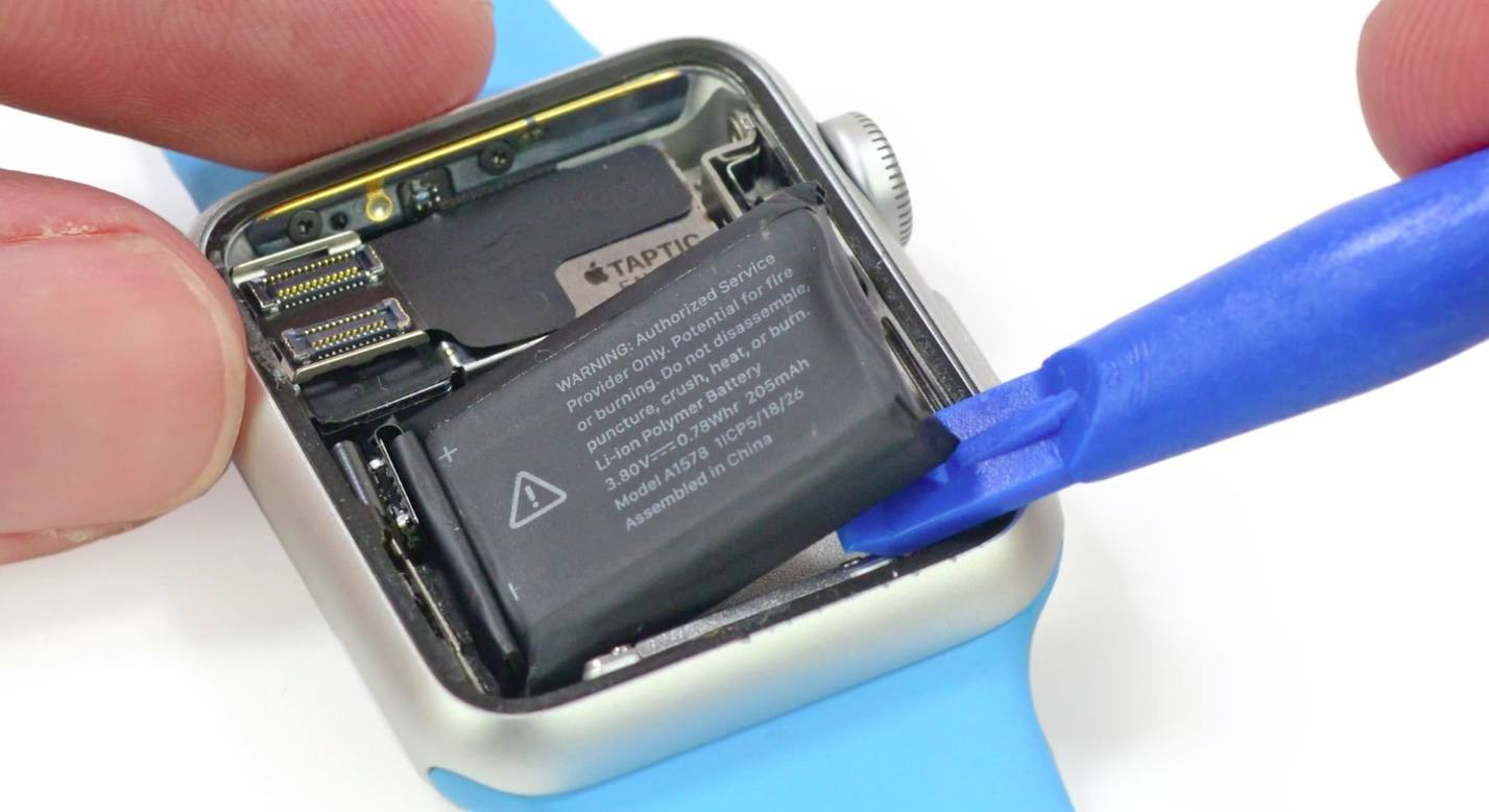 Apple Watch 2 una batteria più capiente e potente?