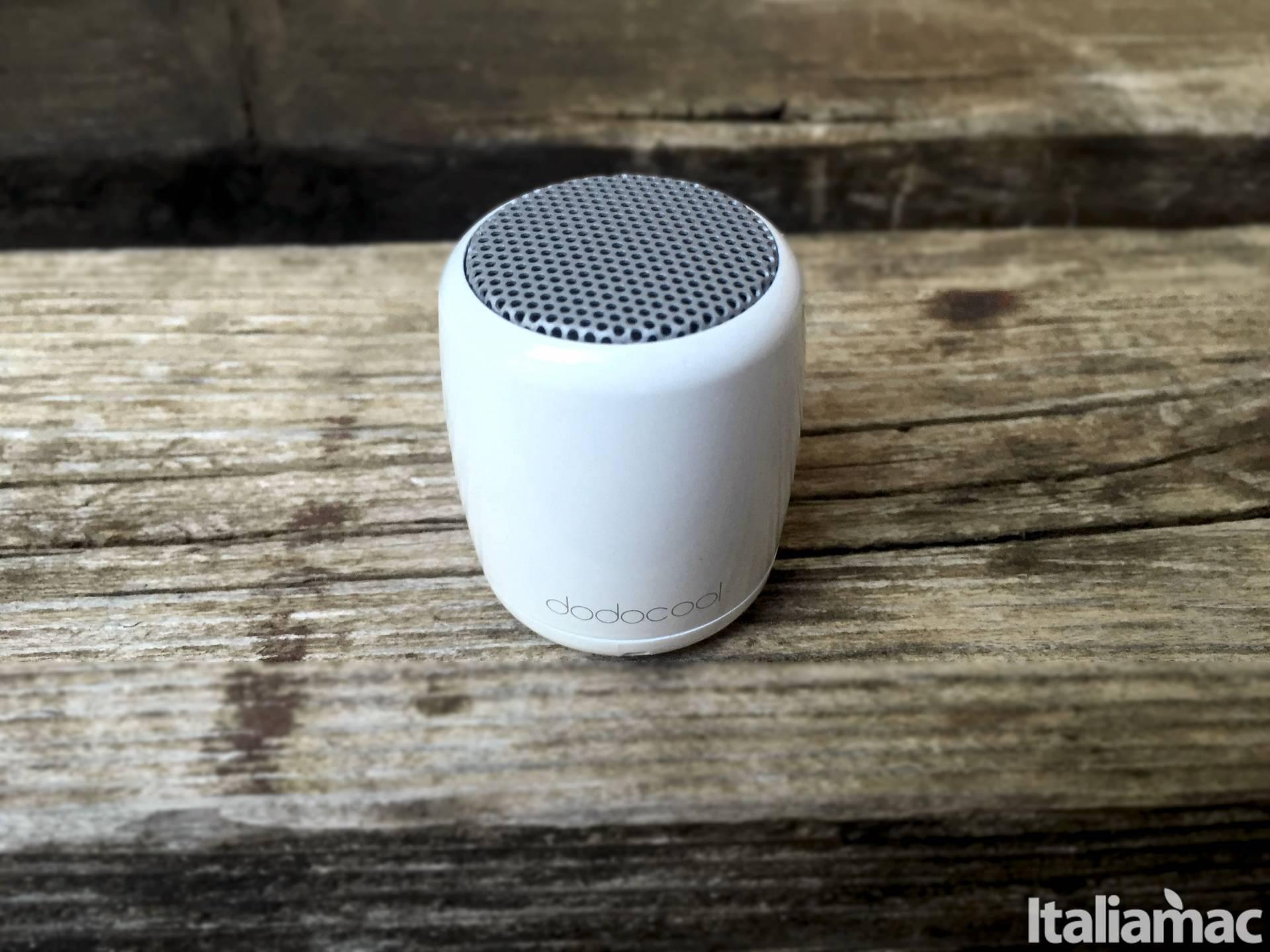 mini speaker dodocool front Mini Speaker Bluetooth Dodocool, la musica racchiusa in 4 centimetri