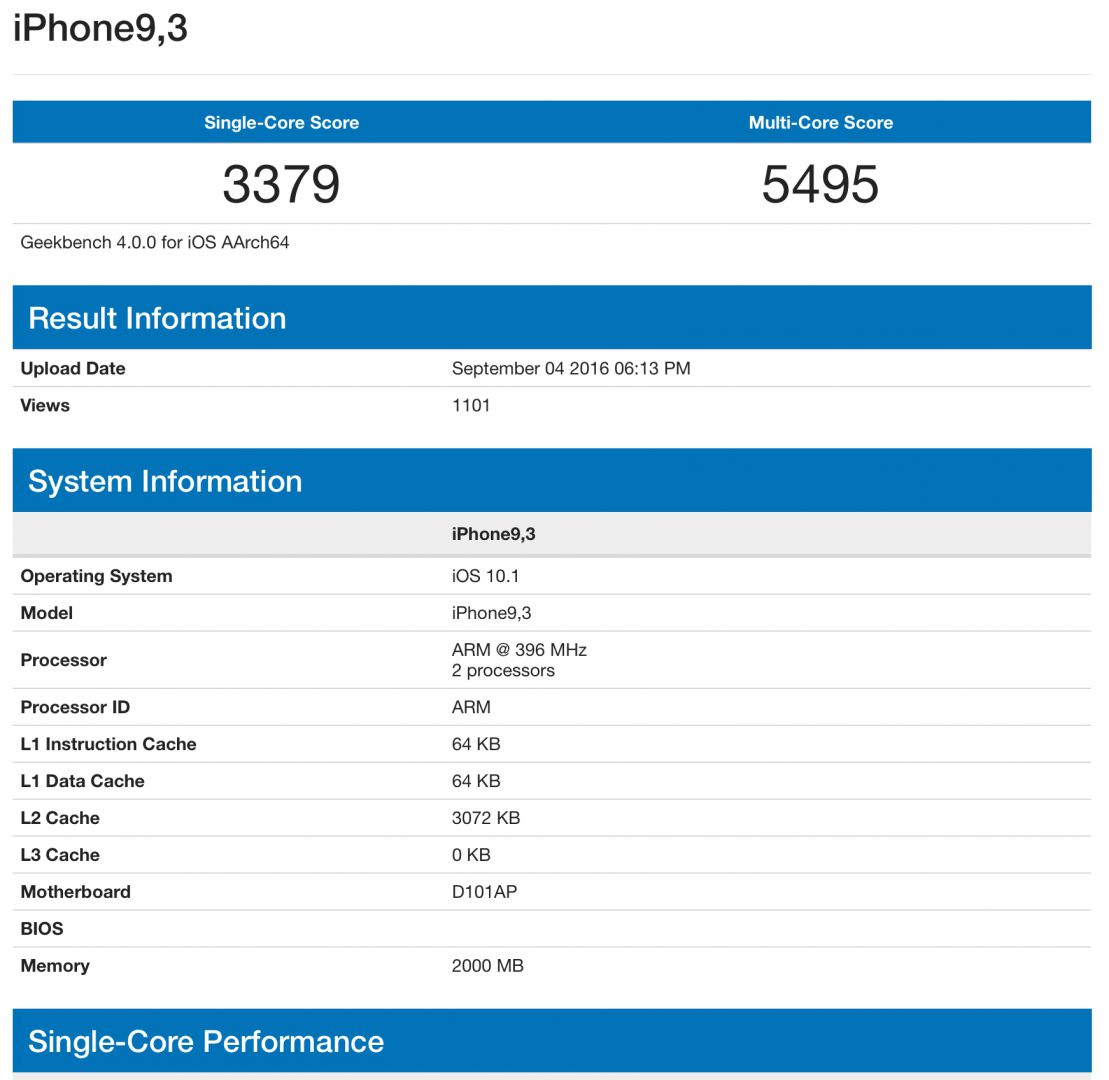 iphone 7 geekbench iPhone 7 e 7 Plus: ecco come saranno!