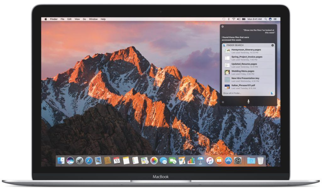 macOS Sierra è ufficialmente disponibile al download