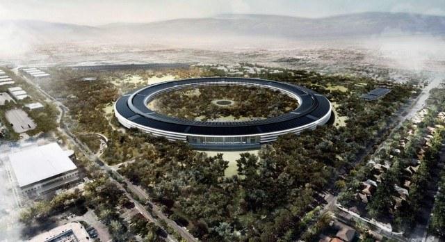 Apple Campus quasi finito. Aggiornamenti in 4K al 2 Settembre