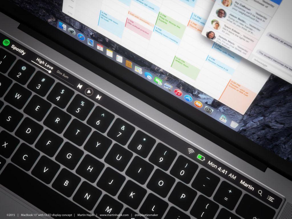 macbook pro oled 1 1024x769 Hello again: Ufficializzato levento Apple del 27 Ottobre