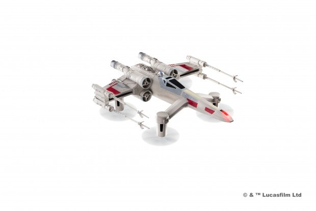 3. t 65 x wing starfighter propel battle drones star wars 620x413 I droni originali di Star Wars in Italia: Propel Battle Drones (Gallery)