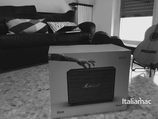 marshall woburn bn box 620x465 Marshall Woburn: come trasformare un amplificatore in speaker bluetooth.