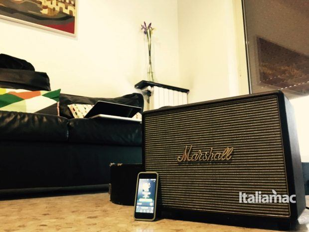 marshall woburn spotify 620x465 Marshall Woburn: come trasformare un amplificatore in speaker bluetooth.