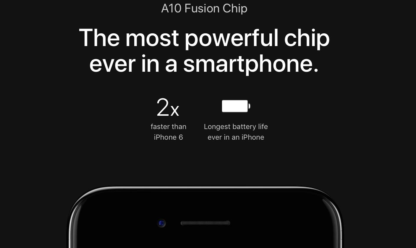 iphone 7 a10 fusion web screenshot 001 TSMC pronta al rilascio dei processori a 10 nanometri