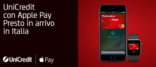 unnamed 1 UniCredit si prepara ufficialmente al lancio di Apple Pay